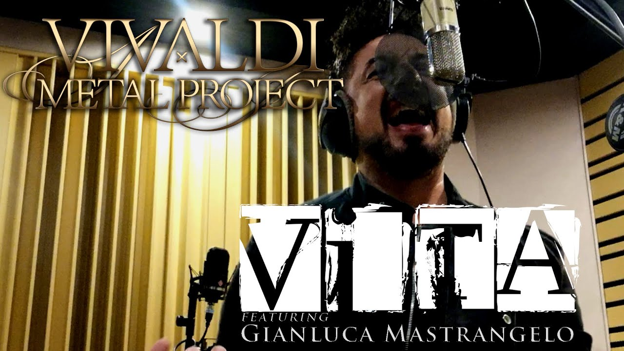 Singer Gianluca Mastrangelo performs 🔥VITA🔥 [Official Studio Cover]
