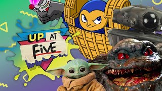 Up At Noon (At Five) LIVE!: HBO Max Horror Movies, Chex Quest Remastered & Star Wars Toys!