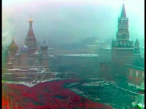 Москва, 7 ноября, 1979, Красная пл. Парад физкультурников и демонстрация, кинохроника