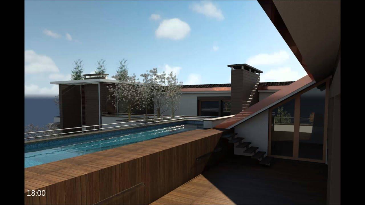 Carate brianza attico con piscina youtube - Attico con piscina ...
