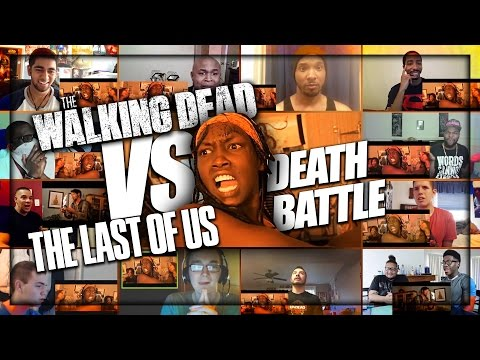 WALKING DEAD Vs. THE LAST OF US (Death Battle) Reactions Mashup