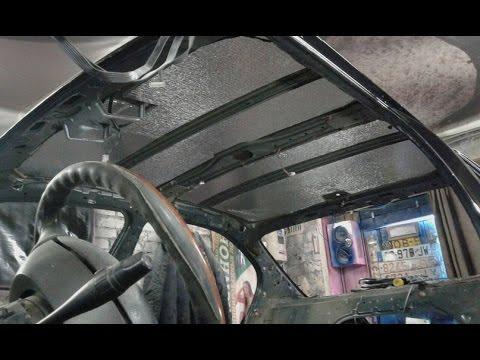 Ниссан Р11 шумоизоляция кузова.