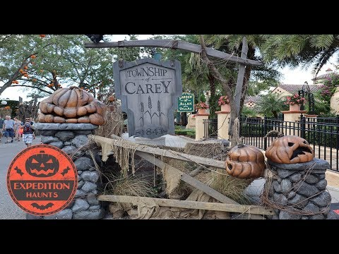 The History of Halloween Horror Nights 28 - Scarezones and Shows   Expedition Haunts