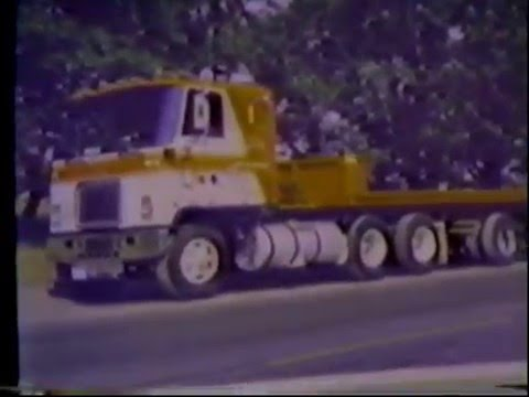 ICL Steel division  rare video  GMC ASTRO late 70s