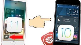 How to get iOS 11 Features in iOS 10 Jailbreak!