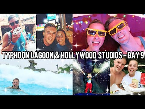 FLORIDA DAY 9: TYPHOON LAGOON & HOLLYWOOD STUDIOS 2018 - DISNEY WORLD VLOGS!!