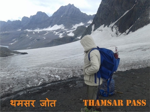 Thamsar Pass Heavy Snow Track (On The Way From Bada Bhangal To Bir Billing Route)