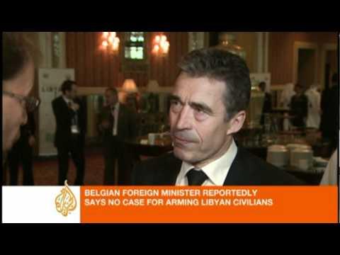 NATO seeking 'political solution in Libya'