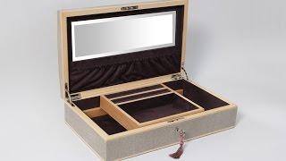 كيفيه صنع صندوق اكسسوارات بسيط من الكرتون - How to make accessory box from cartoon