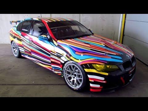 Unique ART CAR SEDAN(!!) BMW M3 E90 Race by Jeff Koons @ TT Circuit, Assen [720P HD]