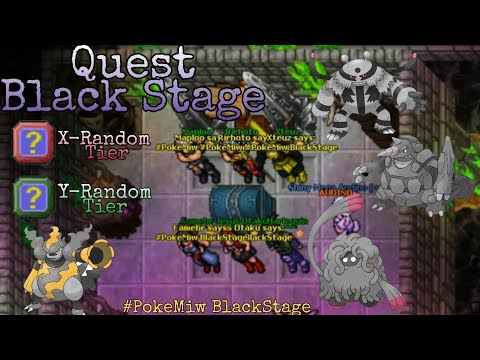 Quest Black Stage