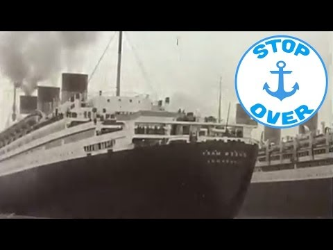 The transatlantic on board the Queen Elizabeth 2 (Documentary, Discovery, History)