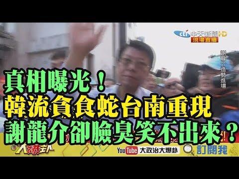 【精彩】真相曝光!韓流貪食蛇台南重現 謝龍介卻臉臭笑不出來!?