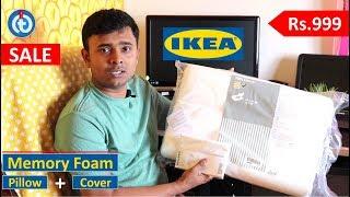 ikea memory foam pillow rolleka for spondylitis orthopaedic