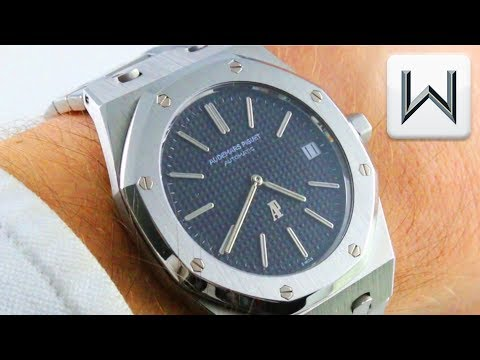 "1972 Audemars Piguet Royal Oak 5402 A-Series Ultra Thin ""Jumbo"" (5402ST) Luxury Watch Review"