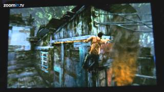 Uncharted Golden Abyss - New Burning house gameplay on European Vita (HD)
