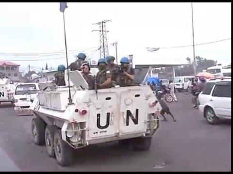 CONGO  RECORRIDA CIUDAD DE GOMA