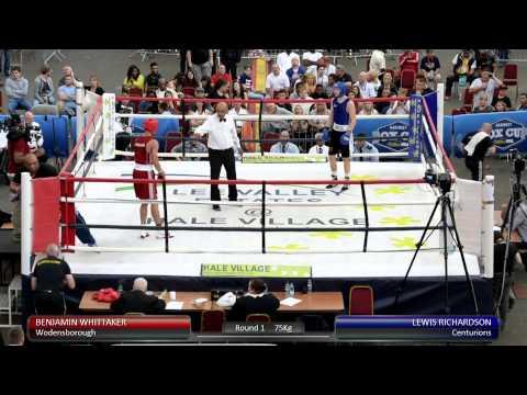 Haringey Box Cup Live Finals - Benjamin Whittaker v. Lewis Richardson