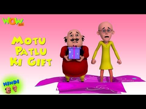 Motu Patlu Ki Gift - Motu Patlu in Hindi WITH ENGLISH, SPANISH & FRENCH SUBTITLES
