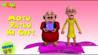 Motu Patlu Cartoons In Hindi | Animated cartoon | Motu Patlu ki gift | Wow Kidz