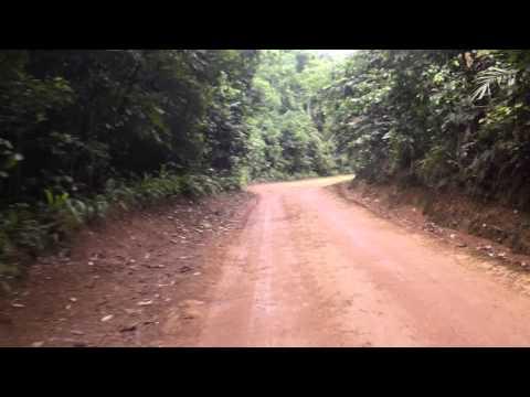 Sao Tome and Principe. Principe Island on the ride