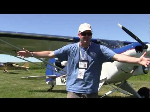 Dakota Cub Super 18 with pilot David Richardson