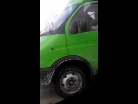 МКАД машины столкнулись из за гололеда (ДТП)