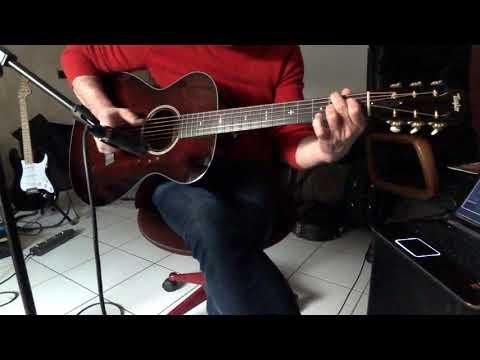 Swingy blues - Taylor 522 12 fret