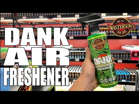 DANK Marijuana Scented Air Freshener - Cannabis Inspired Scent