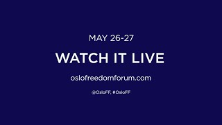 Living in Truth: Oslo Freedom Forum 2015