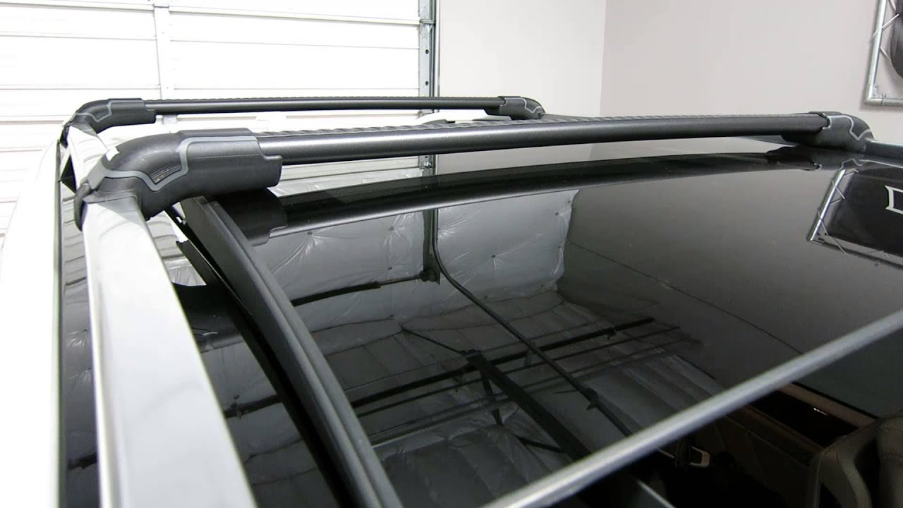 Mercedes Benz Gl Thule Black Aeroblade Edge Roof Rack 13