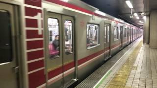 【4K】北大阪急行線   大阪市営地下鉄30000系 31603F  なかもず行き 千里中央駅 発車
