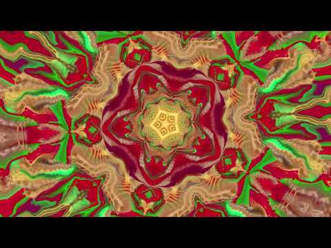 Ozric Tentacles - Tidal Convergance [Visualization] (MD2)