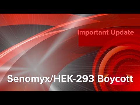 02072018 Important Update On Senomyx HEK 293 Product Boycott