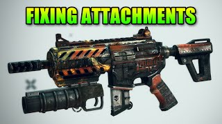 fixing the broken attachment system in battlefield 4
