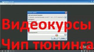 Видеокурсы Чип Тюнинга ➤ Как Удалить Катализатор с ЭБУ Январь в Программе ChipExplorer 2.1