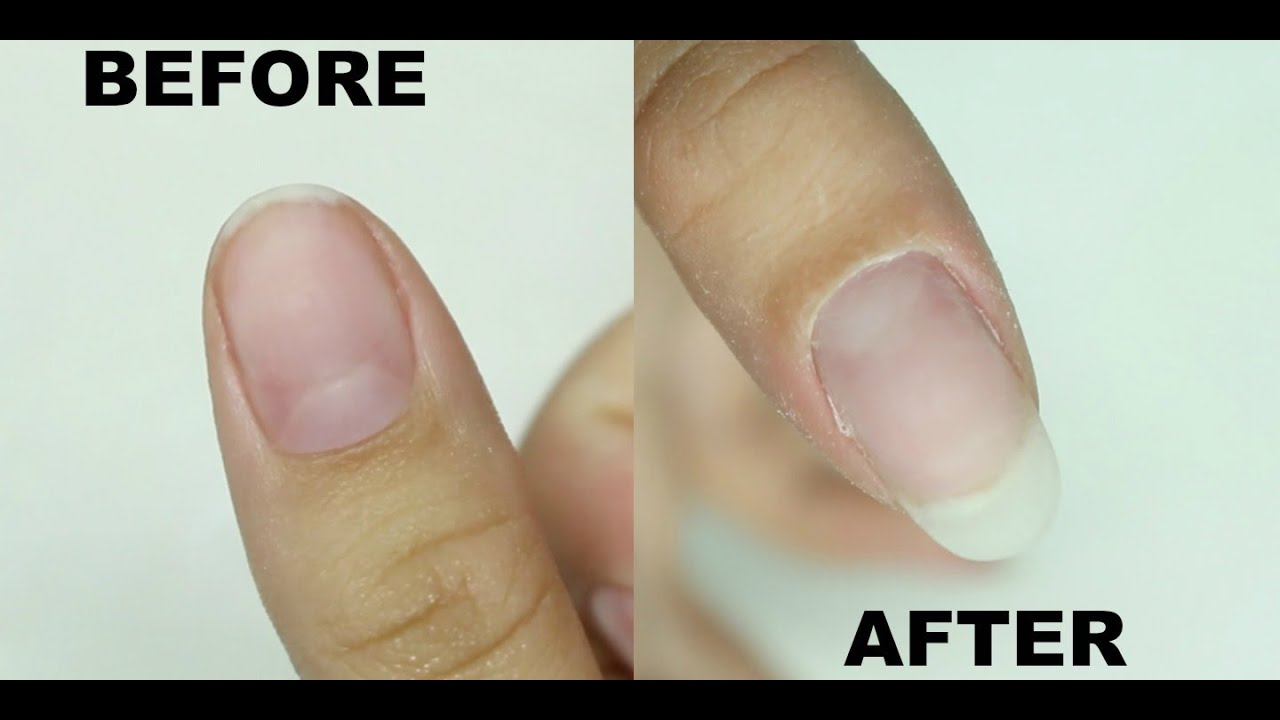 How To: NATURAL LOOKING gel nail extension LOOKS SO REAL (ft ...