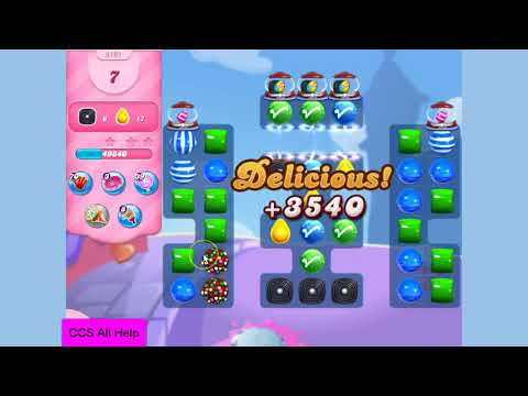 Candy Crush Saga Level 3101 NO BOOSTERS Cookie