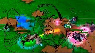 Его гнобят, а он тащит - Warcraft 3 FFA
