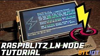 BTCIOT Tutorial - Raspiblitz LN Node