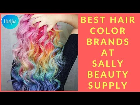 Best Hair Color Brands at Sally Beauty Supply