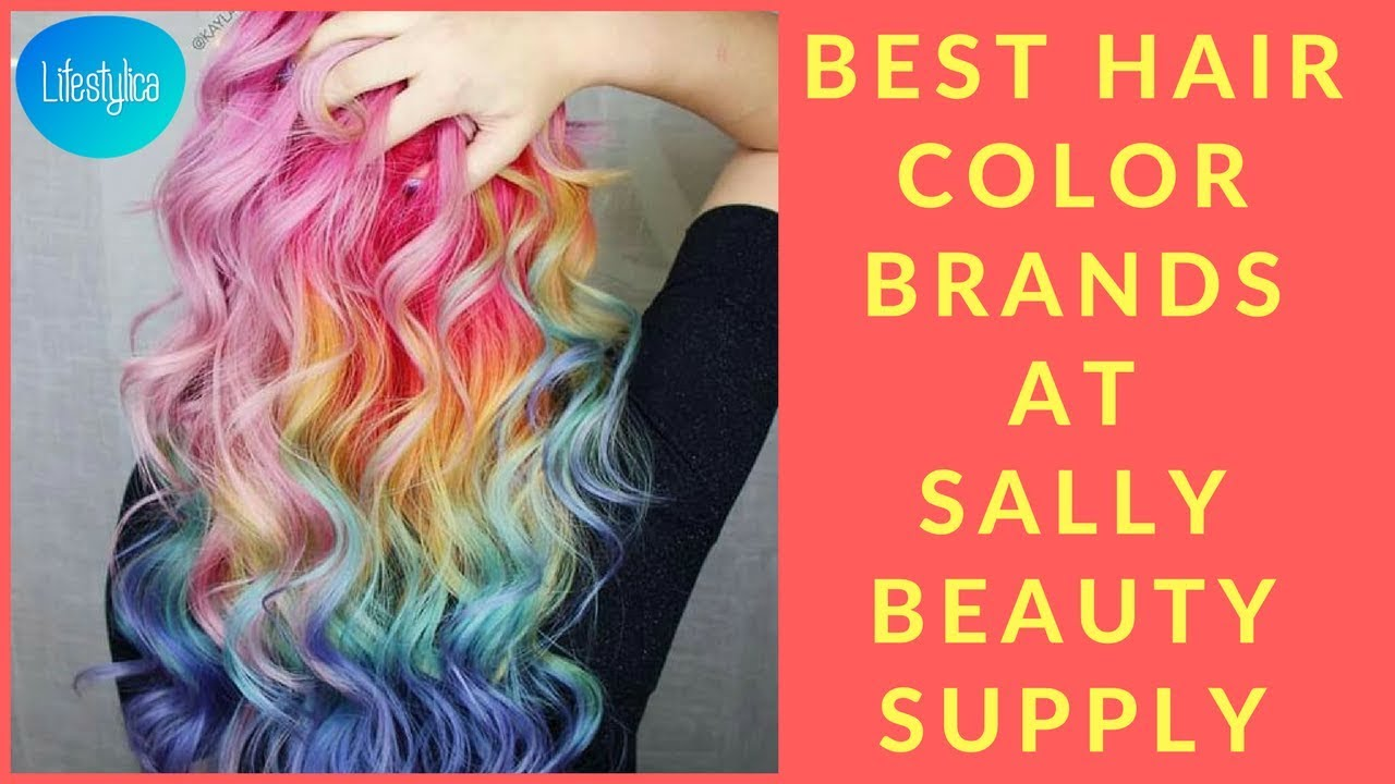 Best Hair Color Brands At Sally Beauty Supply Youtube