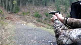 shooting cz 52 at pumpkin and other targets