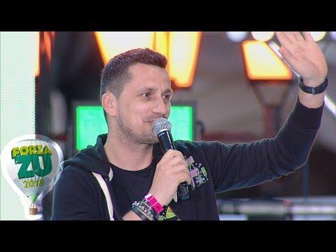 Flick (Domnul Rimă) face o poezie pe loc în fața a 120.000 de oameni (FORZA ZU 2018)