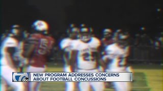 New program addresses concerns about football concussions