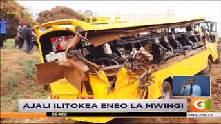 Wanafunzi 10 waangamia katika ajali iliyotokea Mwingi