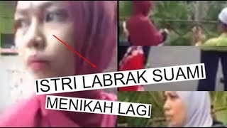 HEBOH!! Istri Labrak Suaminya yang Nikah Lagi #Kelinci Gendut