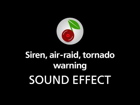 🎧 Siren, air raid, tornado warning, SOUND EFFECT