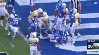 Kentucky vs Georgia Tech TaxSlayer Bowl Highlights 2016