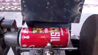 pneumatic can crusher with conveyor belt mechanical engineering project topics